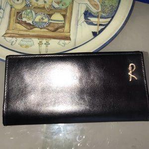 Roberta di camerino Black continental wallet